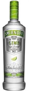 Smirnoff Vodka Lime 750ml